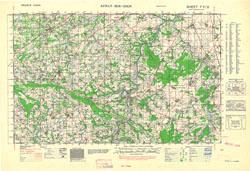 France 1:50,000, Series GSGS 4250, St. Pierre-sur-Dives